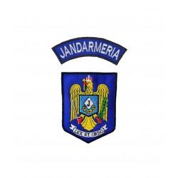 """Set embleme """"Jandarmeria"""""""